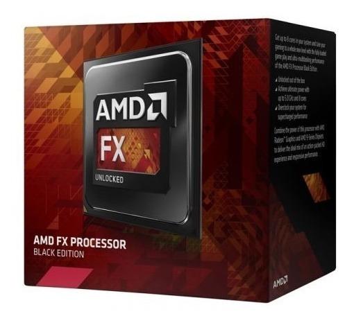 Processador Amd Fx-4300 Black Edition Box! 4 Núcleos / Am3+.
