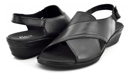 Zapato Confortflexi 100001 Negro Nebula 22.0 - 27.0 Damas
