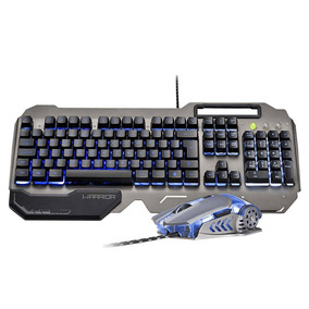Warrior Ragnar Keon Combo Teclado E Mouse Gamer Tc223