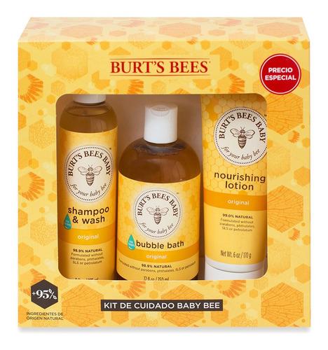 Kit Para Regalo Burt's Bees Cuidado Baby Bee