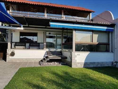 Casa Azul En Venta Tequesquitengo *con Vista Al Lago*