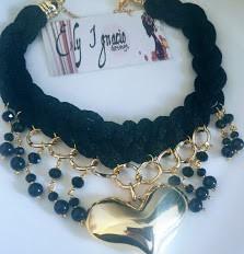 Collares Joyeria Cristal Perlas Trenzados Artesanal Mayoreo