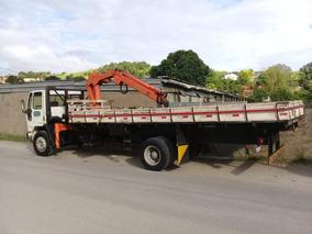 Caminhão Munck 12 Toneladas Argos Aceito Troca Parte