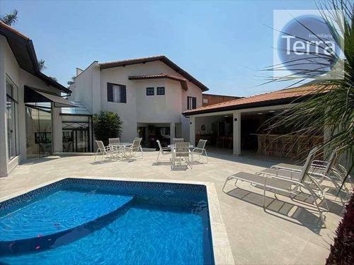 Casa À Venda, 570 M² Por R$ 3.500.000,00 - São Paulo Ii - Cotia/sp - Ca0636
