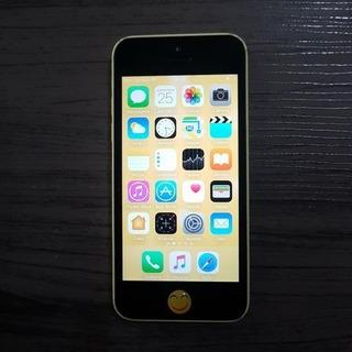 iPhone 5c Amarelo Seminovo Com Brindes