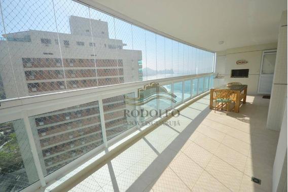 Apartamento Ed Oceano À Venda, 98 M² Por R$ 1.000.000 - Praia Das Astúrias - Guarujá/sp - Ap1105