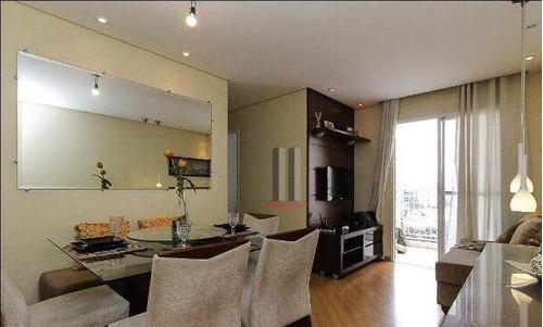 Apartamento Com 3 Dormitórios À Venda, 64 M² Por R$ 450.000 - Mooca - São Paulo/sp - Ap2821