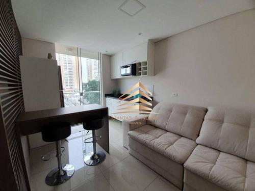 Studio First 1 Dormitório Para Alugar, 38 M² Por R$ 2.116/mês - Vila Augusta - Guarulhos/sp - St0002