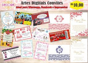 Convite Digital - Qualquer Tema