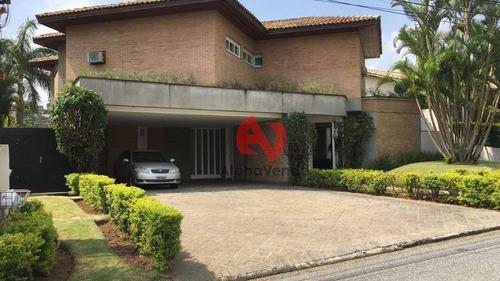 Imagem 1 de 30 de Tambore 3 Casa Com 750 M² Por R$ 6.500.000 - Alphaville - Santana De Parnaíba/sp - Ca5527