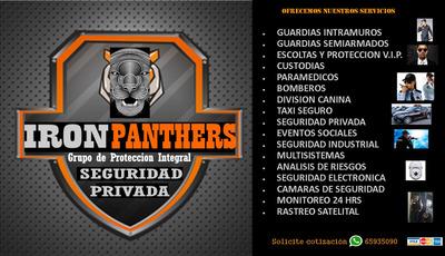 Grupo De Proteccion Integral Iron Panthers Private Security