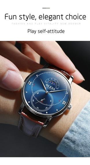 Relógio Pulso - Olevs - 41mm - Quartzo - Estoque