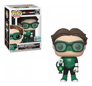 Funko Pop Tv Big Bang Theory - Leonard As Green Lantern 836