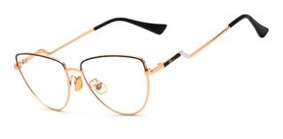 Armação Oculos Ogrife Og 1811-c Feminino Com Lente Sem Grau