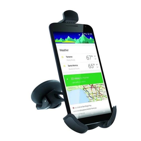 Suporte Veicular Ventosa P/ Smartphone Gps Isound Isound6750