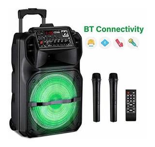 Maquina De Karaoke Para Niños Y Adultos, Seaphy Dj Lights 12