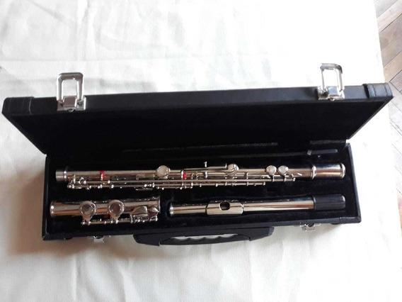 Vendo 1 Flautatraversa De Platos Abiertos Marca King