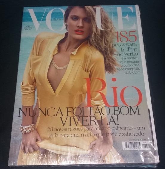 Revista Vogue Nº 411 Ano 2012 #constance Jablonski #lacrada