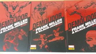 Demolidor- O Homem Sem Medo Frank Miller - 3 Volume Hq 1+2+3