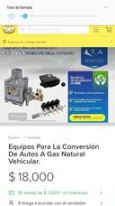 Venta De Refacciones Y Equipos Nuevos De Gas.matural 5 Gener
