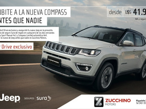 Jeep Compass Limited Test Drive 1 Año De Seguro De Regalo