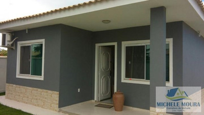 Casas 2 Quartos Para Venda Em Araruama, Fazendinha, 2 Dormitórios, 1 Suíte, 2 Banheiros, 3 Vagas - 213