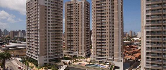 Apartamento Com 3 Dormitórios À Venda, 67 M² Por R$ 370.000 - Papicu - Fortaleza/ce - Ap3508
