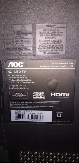 Tv Oac 43 Led Modelo: Le43d1452