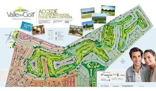 Venta - Valle Del Golf - Lote 1era Etapa - 1560 M2 -