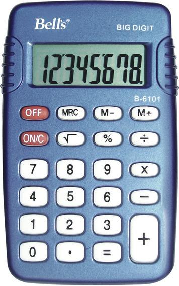 Calculadora De Bolso Bells Kc-108 8 Dígitos