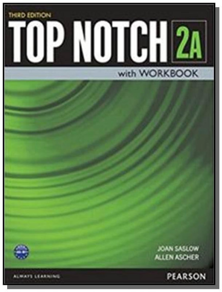 Top Notch 2a Sb With Wb - 3rd Ed