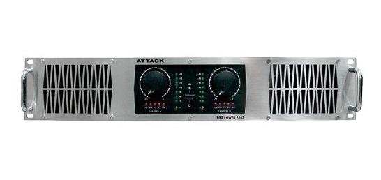 Amplificador Attack Potencia 1200w 4ohms P2002 Imperdível