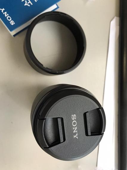 Lente Sony E Mont 85 Mm Fe 1.8