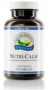 Nutri-calm Nature´s Sunshine 100 Capsulas