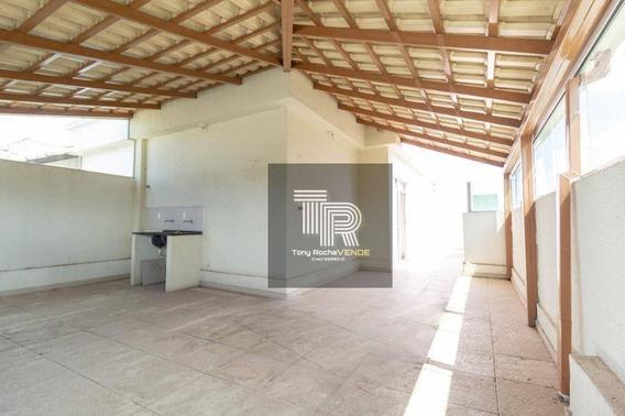 Esplêndida Cobertura 3 Quartos, Suíte, Terraço E 2 Vagas - Brasiléia - Co0019