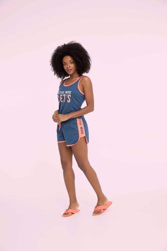 Imagem 1 de 1 de Pijama Short Doll Feminino Adulto Lets Go - Ref. 13134