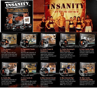 Insanity Dvd Ejercicios