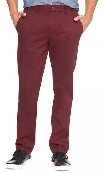 Pantalón Slim Fit Gap Hombre Talle 30/40 Nuevo Con Etiquetas