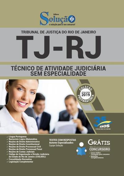 Apostila Tj Rj 2019 Técnico Judiciária Sem Especialidade
