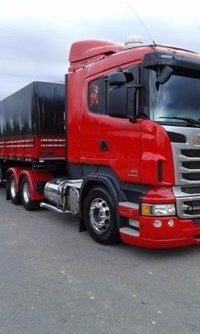 Scania R440 6x2 + Carreta Ls Graneleira 3 Eixos