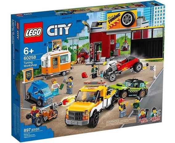 Lego City Taller De Tuneo 60258