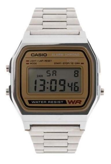 Reloj Casio A158wea-9cf Plateado
