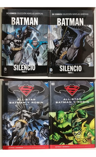 All-star Batman Y Robin + Batman Hush (salvat Ecc)