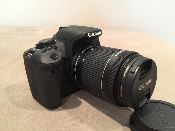 Canon Eos Rebel T5i Dslr Com Lente 18-55mm Stm