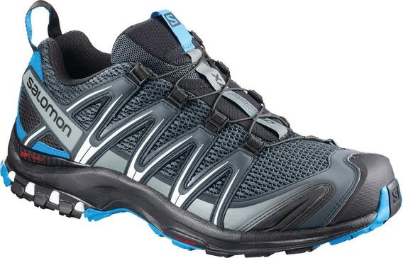 Calzado Masculina Salomon - Xa Pro 3d M Azul - Trail Running