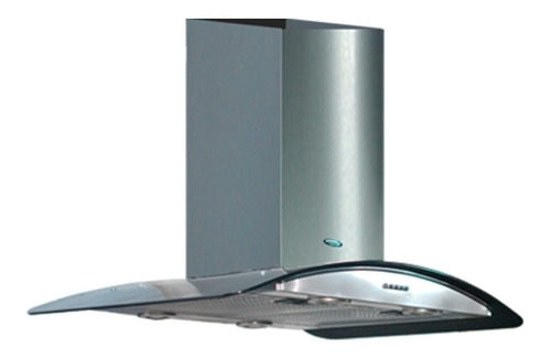 Extractor purificador de cocina Maraldi Merlina ac. inox. de pared 900mm x 100mm x 500mm plateado 220V