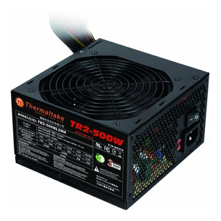 Fuente Pc Gamer Atx Thermaltake 500w 500 Molex Sata Mexx