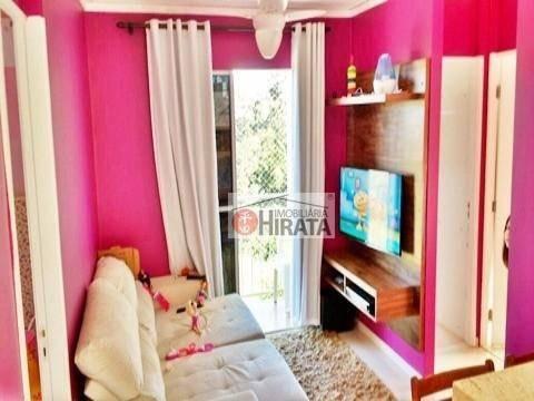 Apartamento Com 3 Dormitórios À Venda, 52 M² Por R$ 250.000,00 - Parque Jambeiro - Campinas/sp - Ap1761