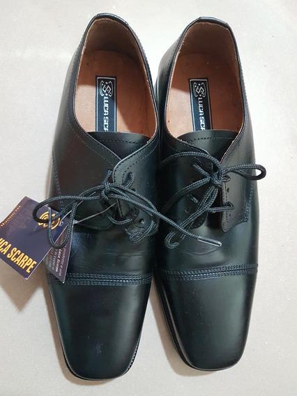 Zapatos Luca Scarpe De Cuero Suela Febo Talle 39