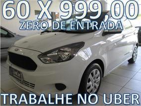 Ford Ka Se Plus Flex Zero De Entrada + 60 X 999,00 Fixas